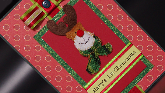 Rudolph The Red Nosed Reindeer Card