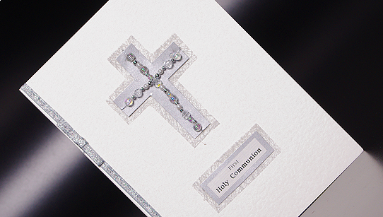 First Holy Communion Card ::Religious and Baby Cards