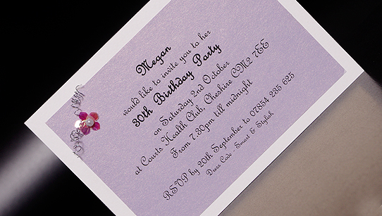 18th to 100th hand made party invitation cards stopboris Gallery