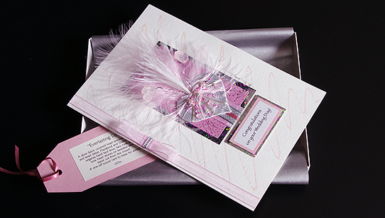 Everlasting Love Hand Made Luxury Greeting Card Birthday Cards – Handmade Luxury Birthday Cards