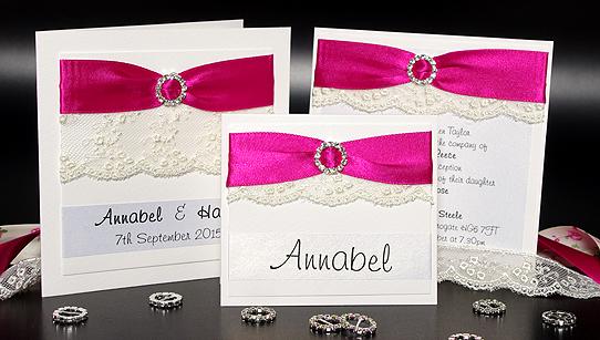 Vintage Handmade Wedding Invitations: Vintage Lace Handmade Wedding Invitation Samples
