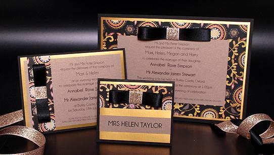 Marrakesh Handmade Wedding Invitation Samples – Handmade Luxury Wedding Invitations