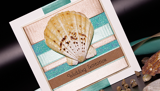 Day Handmade Wedding Invitations – Handmade Beach Wedding Invitations