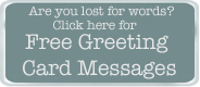 free greeting card messages